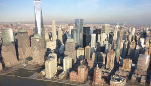 New York Skyline from Helicopter 2
